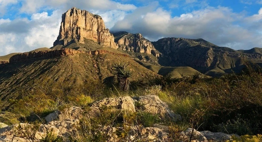 A Picturesque Guadalupe Mountain Drive